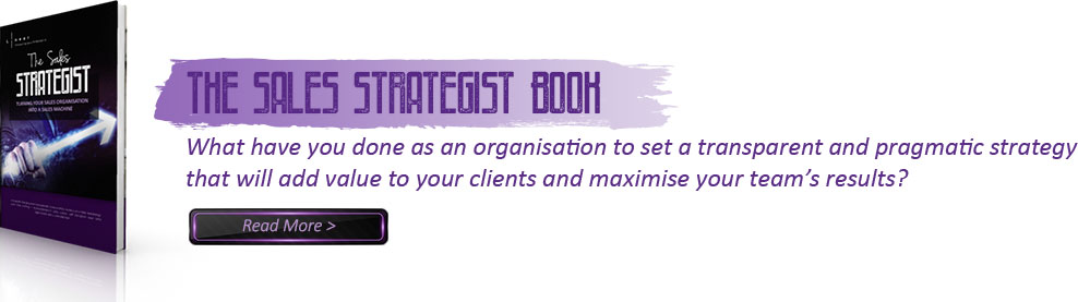 The Sales Strategist Book Image - Peter Holland